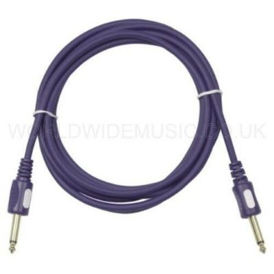 Professional Quality Guitar Lead Cable with Straight Jack Plugs 10 Metres